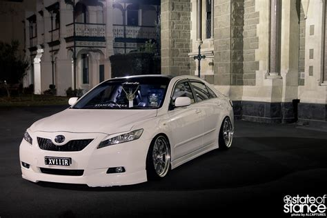 stanced toyota camry image gallery stanced camry