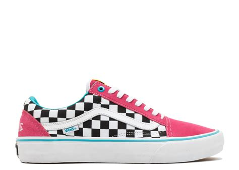 Vans Golf Wang 5 skool pro quot golf wang quot vans vn000zd4j7t blue pink white flight club