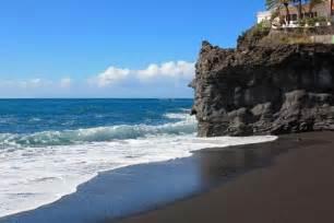 black sand island black sand beaches e morfes
