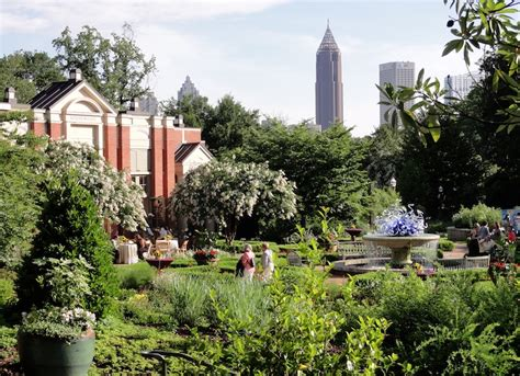 Piedmont Park Botanical Gardens Curbed Atlanta Pocket Guide Summer 2016 Curbed Atlanta