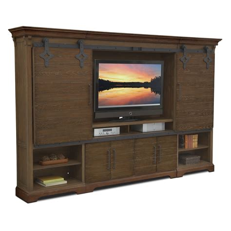 wall unit furniture union city 4 pc entertainment wall unit american