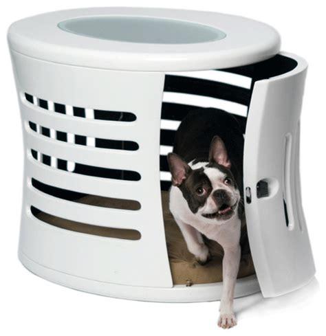designer dog crates zenhaus designer dog crate modern pet supplies other metro by felix chien