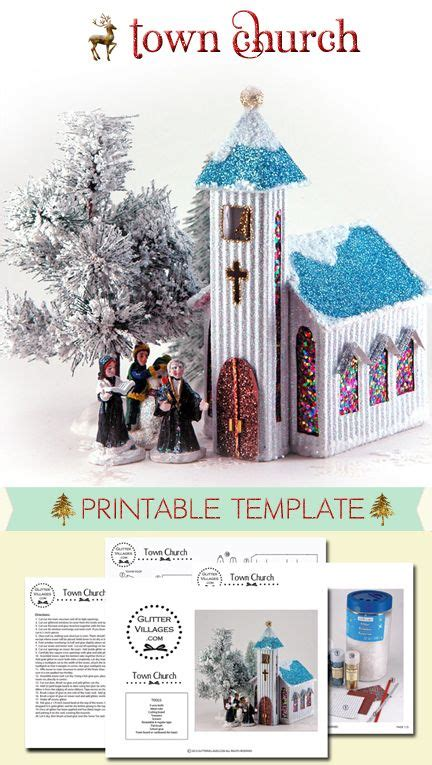 printable christmas village template 17 best images about little houses on pinterest village