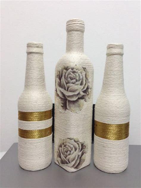 best 28 garrafa decorada barbante em garrafas