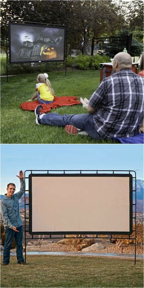 outdoor how to set up your own backyard theater systems