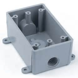 shop carlon 1 plastic work wall electrical box at lowes