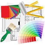 interior design drawing tools architektur raumausstatter vr flyer vorlage zur 252 ck