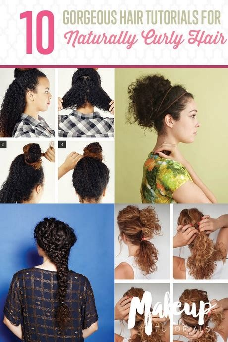 everyday hairstyles for naturally curly hair cute everyday hairstyles for curly hair