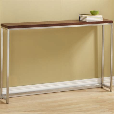 how tall is a sofa table tfg ogden tall console table reviews wayfair