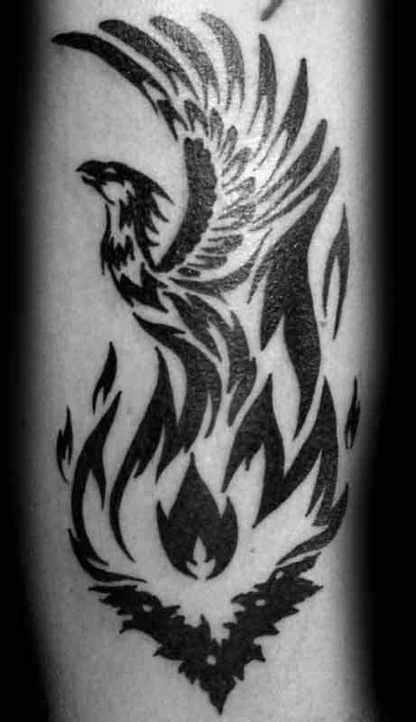 tribal flame tattoos on arm 40 tribal designs for mythology ink