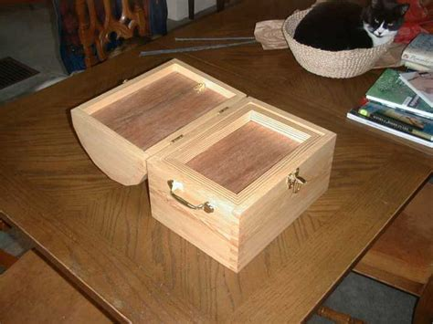 build false bottom drawer homemade of the dome lidded chest