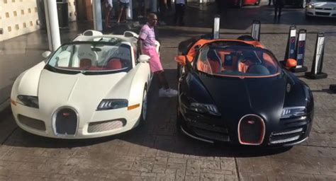 Floyd Mayweather Bugatti by Floyd Mayweather Drops 6 5 Million On Two Bugatti Veyrons