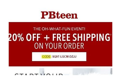 pbteen coupons december 2018