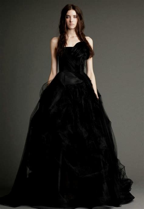 Wedding Dresses Black by How To Be Sophisticated In A Black Wedding Dress