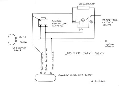 led turn signal wiring wiring diagram