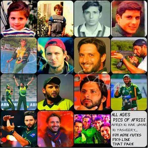 timeless memories of shahid afridi cricket images & photos