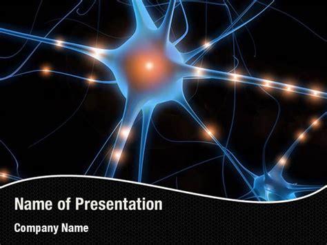 Neural Nodes Powerpoint Templates Neural Nodes Neural Network Ppt Template Free
