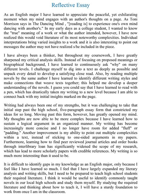 7 kinds of ordinary catastrophes what is reflective writing essay