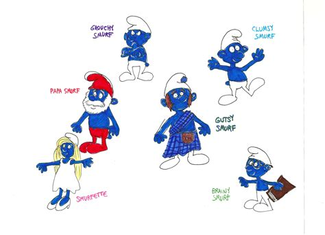 original smurf names pictures to pin on pinterest pinsdaddy