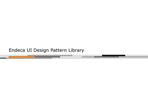 endeca pattern library from search to discovery