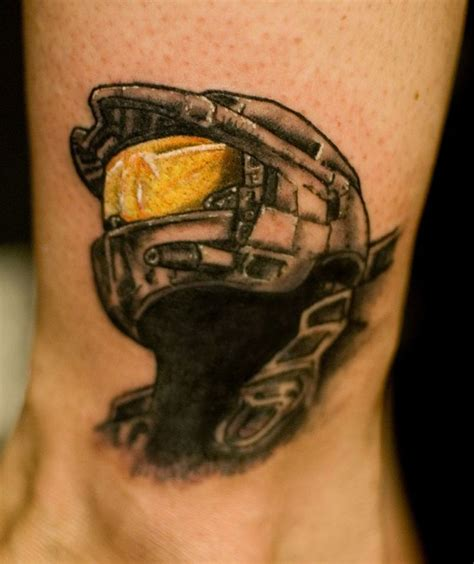 master chief tattoo 30 best halo fan images on master chief