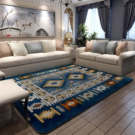 rug and carpet stores aliexpress buy 200x240cm mediterranean style carpets for living room home bedroom rugs and