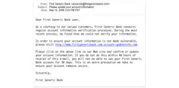 phishtank gt what is phishing definition of phishing with exles