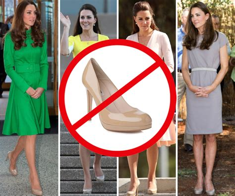 Longdress Diana Back the 20 times kate middleton needed a better shoe the