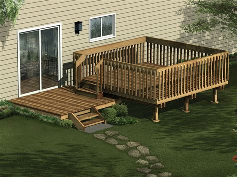 home deck plans woodwork multi level deck plans pdf plans