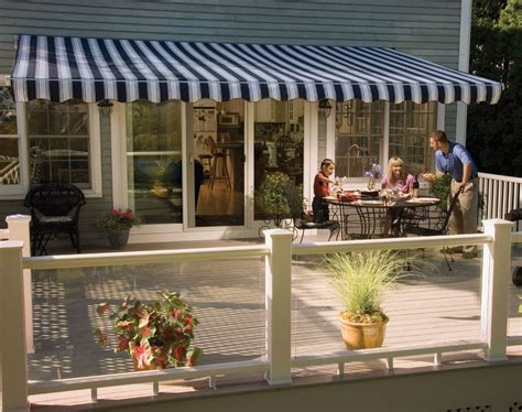 sunsetter patio awnings 11 sunsetter vista awning with acrylic fabric by