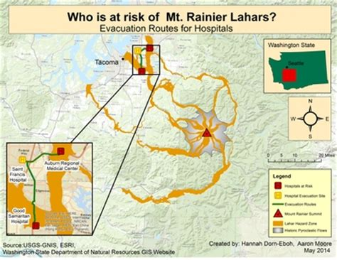 """""""january 2015 who is at risk of mt. rainier lahars"""
