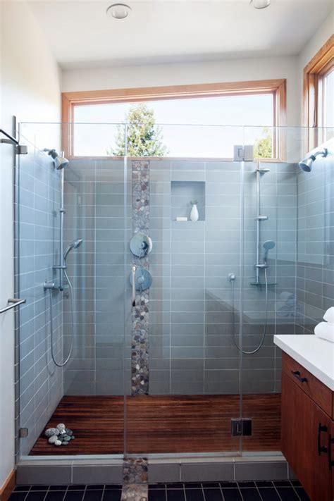 slatted teak modern bathroom flooring ideas shower floor teak slats