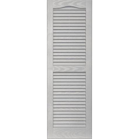 Cleaning Louvered Blinds shop vantage 2 pack paintable louvered vinyl exterior