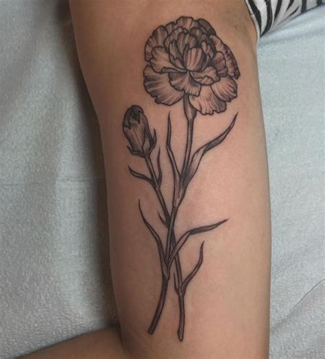 carnations tattoo 25 best ideas about carnation on