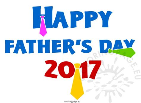 fathers day 2017 happy s day 2017 images coloring page