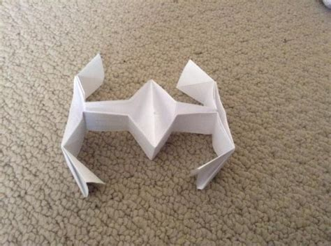Tie Fighter Origami - tie fighter origami yoda