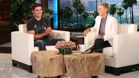 ellen degeneres zac efron zac efron is ellen s gardener youtube