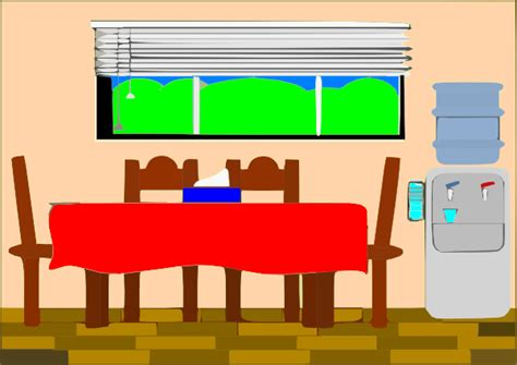 cartoon dining room dining room clipart clipground