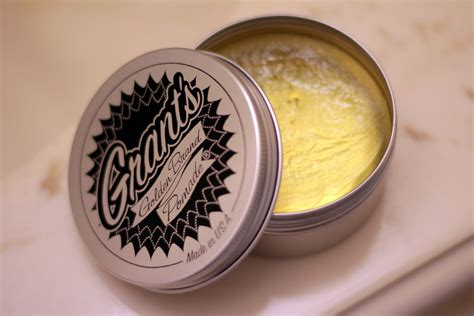 Pomade Color grant s golden brand pomade review the pomp