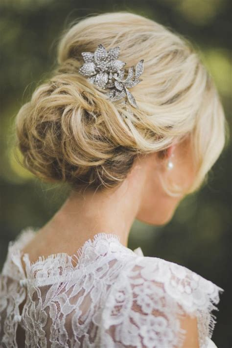 elegant imperfection with low side bun hairstyles for