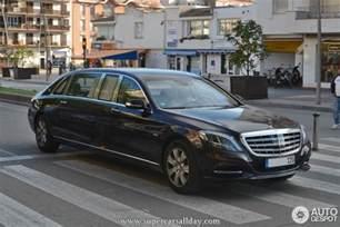Mercedes S600 Pullman Mercedes Maybach S600 Pullman 3 May 2015 Autogespot