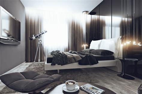 Nachttisch Grau Schlafzimmer by 20 Ideen F 252 R Stilvolle Junggeselle Schlafzimmer