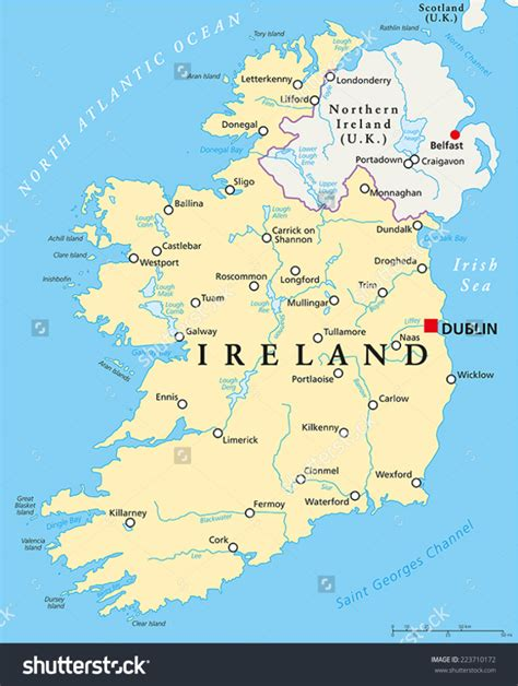 map of ireland with major cities ireland day 3 dunluce castle bushmills and the s
