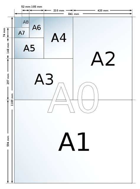 How To Make A4 Size Paper - a1 a2 a3 a4 learn about paper sizes if you d like to