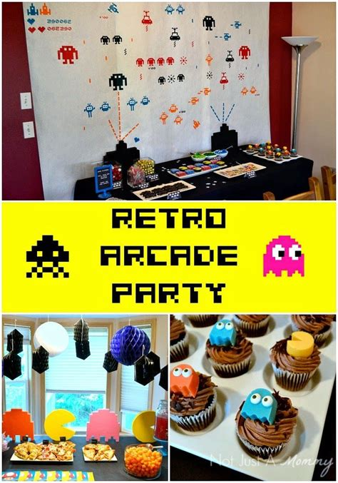 80s arcade party supplies decorations partycheap 17 best images about 80s party on pinterest arcade games