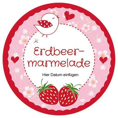 Etiketten Thermomix by Kostenlose Vorlage Erdbeermarmelade Marmelade Geeignet F 252 R