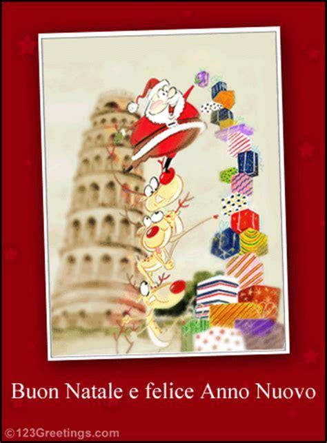 Buon Natale E Felice Anno Nuovo! Free Italian eCards