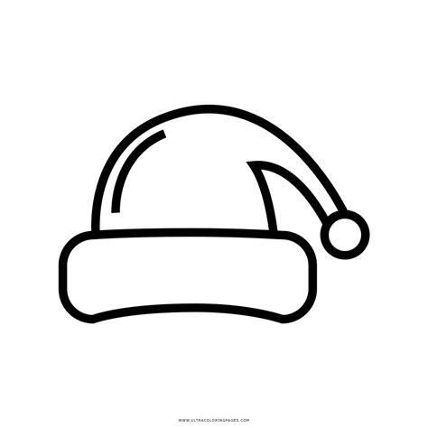 christmas hat coloring page santa hat christmas teddy bear coloring pages santa hat