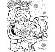 Christmas Colouring Pages For Kids Age 8 – 12 Years
