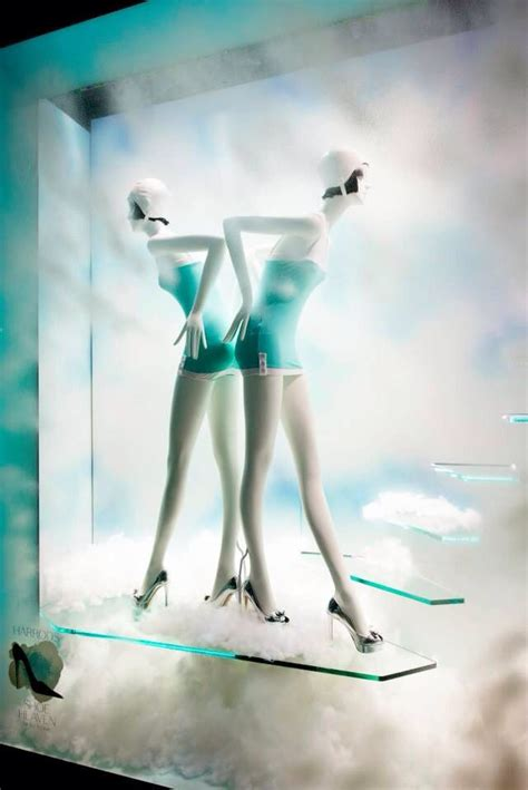 Harrods To Create A Shoe Boudoir by 102 Best Summer Themed Store Displays Images On